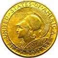 1915 S Gold Commems Panama-Pacific Round Dollar MS64 PCGS