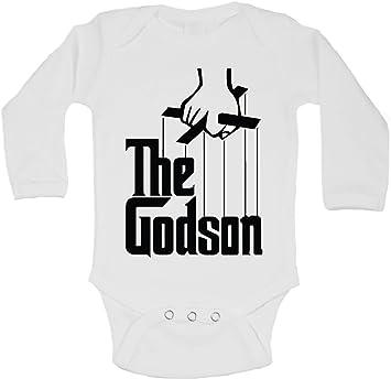 The Godson Funny Personalised Baby//Toddler Vest Newborn Gift Bodysuit//Grow