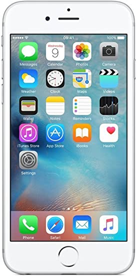 Apple iPhone 6 S - Smartphone de 64 GB, Color Plata (Reacondicionado): Amazon.es: Electrónica