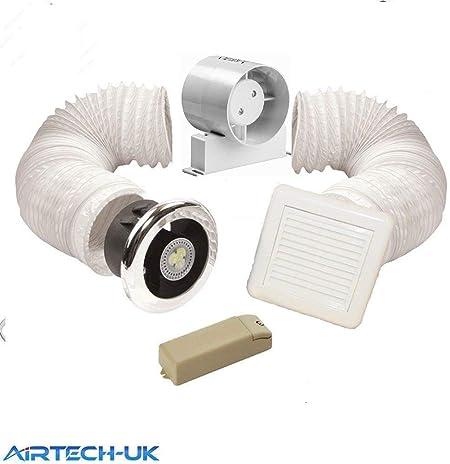 Salle de bain ventilateur avec minuteur Modèle kit de ...