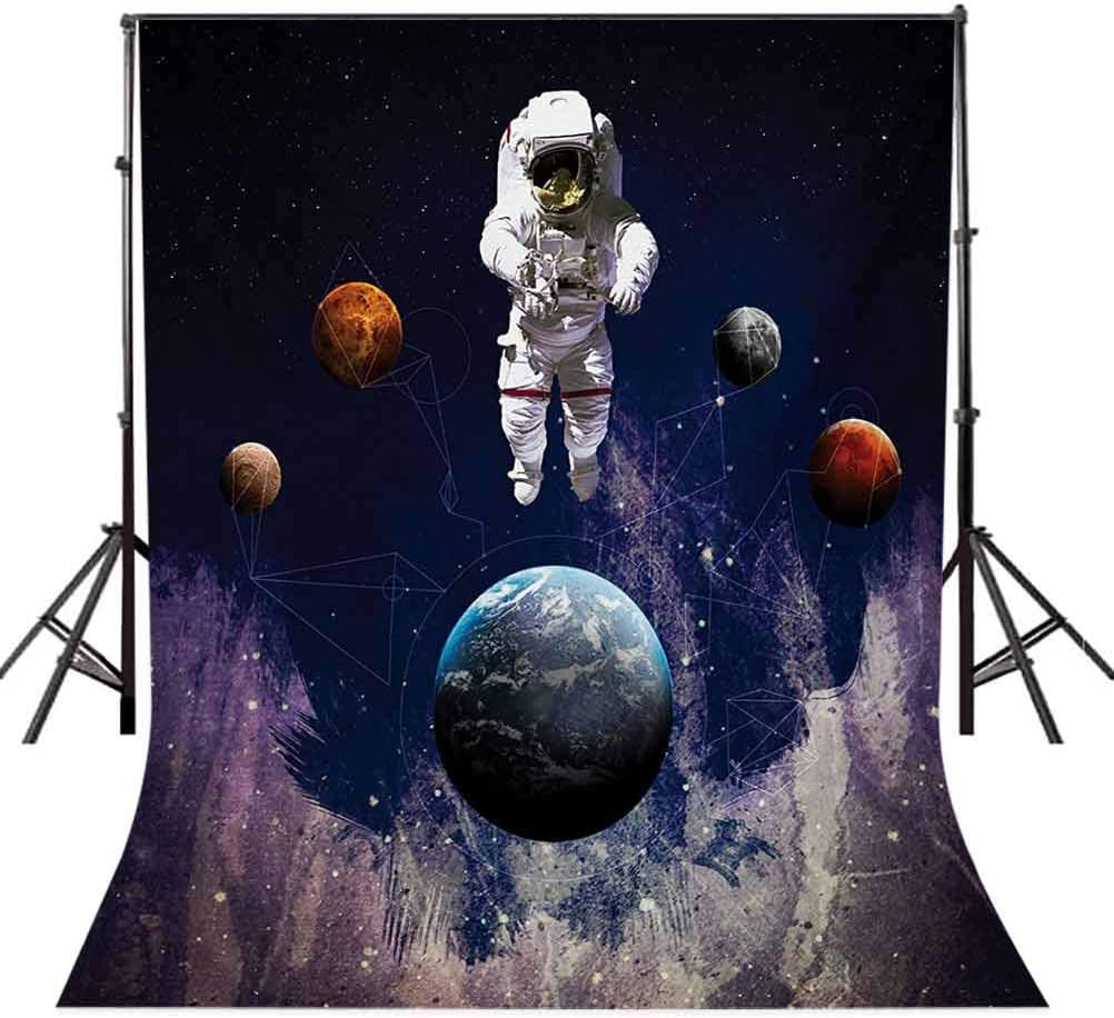 Scenery 8x10 FT Photography Backdrop Cartoon Like Mountain with Snow Landscape with Lake Reflection Art Background for Photography Kids Adult Photo Booth Video Shoot Vinyl Studio Props