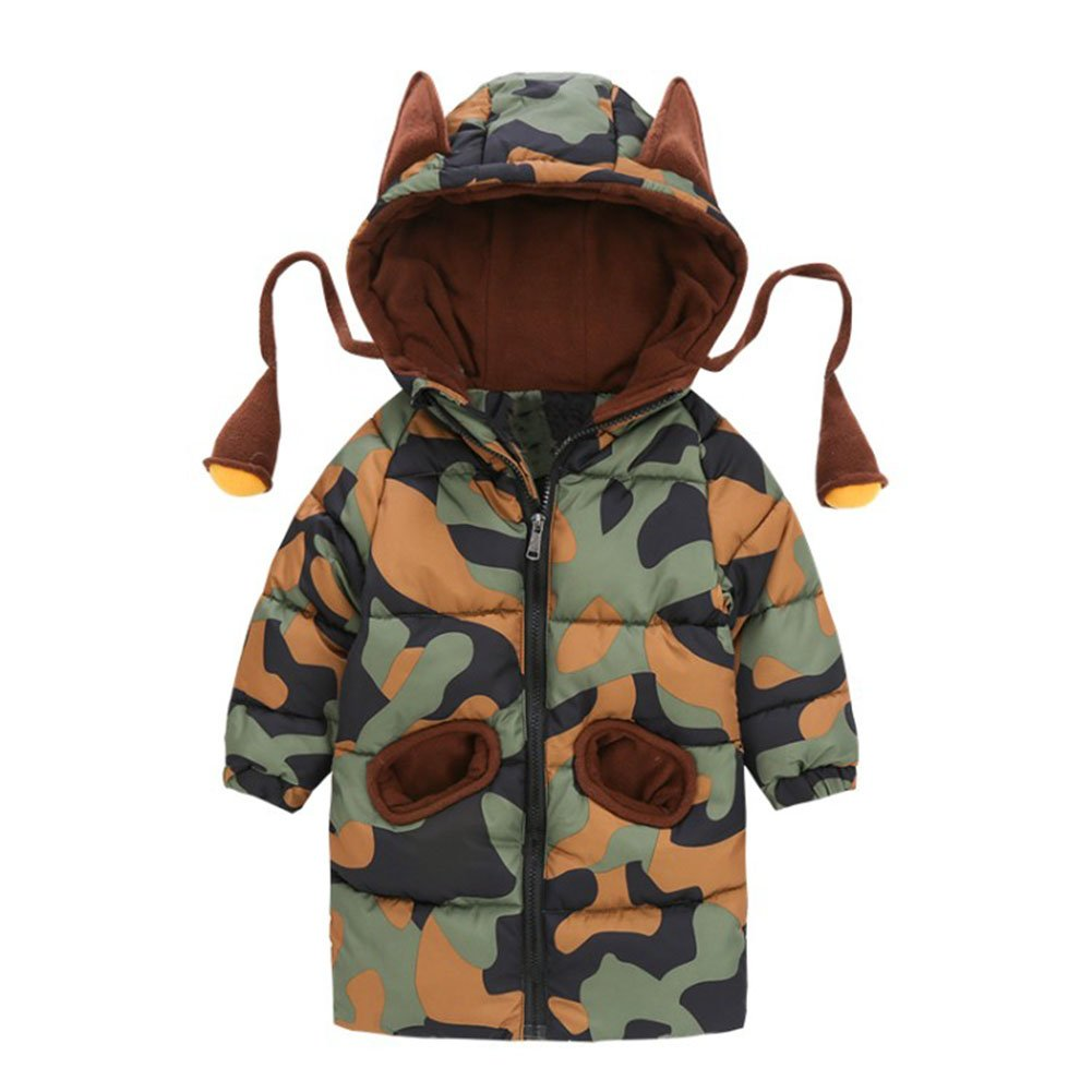 Infant Baby Boys Girl Camouflage Pattern Coat Toddler Jacket Outwear CZ-TZ-1369