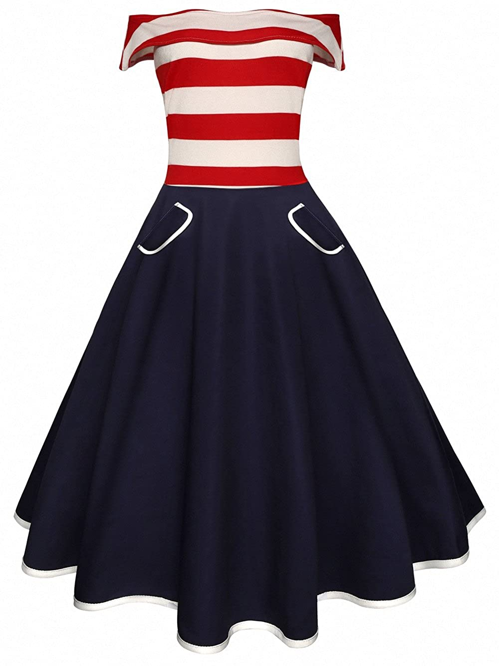 1fb5123dc Latest fashionable T-shirt dress with American flag design to show your  patriotic. Crop fitted bodice with flowy maxi skirt