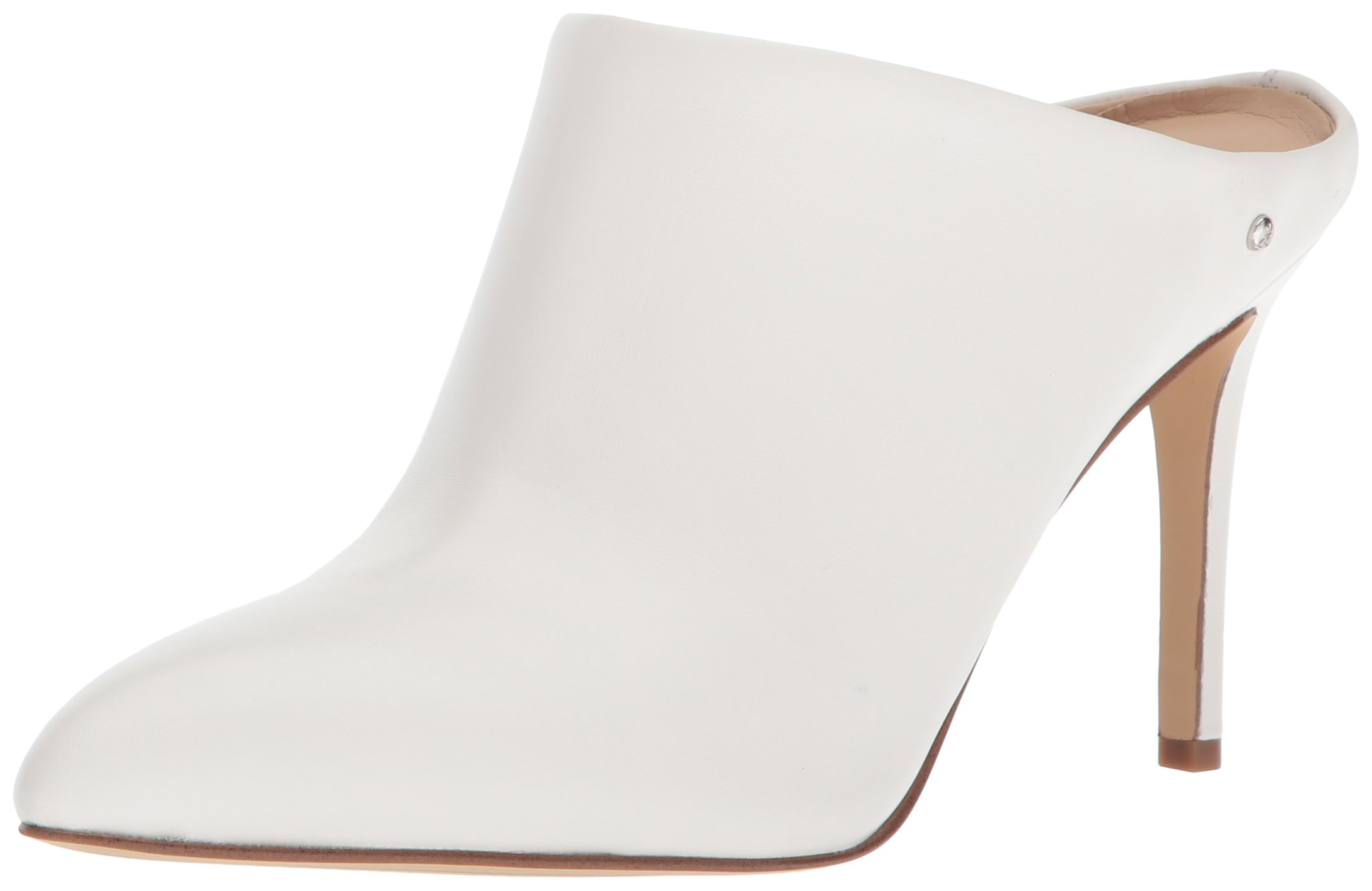 Sam Edelman Women's Oran Mule, Bright White Leather, 6 Medium US