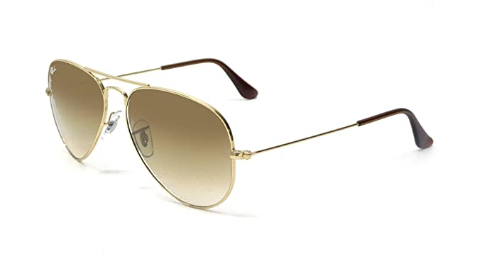 Ray Ban Aviator Large Metal Sonnenbrille - gold / braun - RB 3025 001/51 58/14 t3jvuuAn