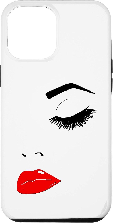 iPhone 12 Pro Max Fancy Women's Makeup-Lash Extensions Artist Print Case