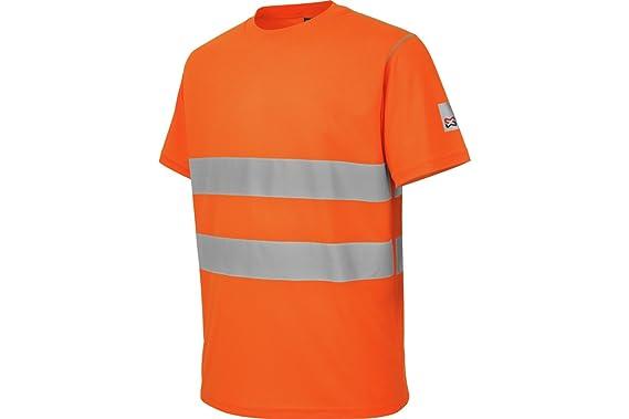 81e7d5304cd WÜRTH MODYF Tee-Shirt de Travail microporeux Haute-visibilité Orange -  Taille S