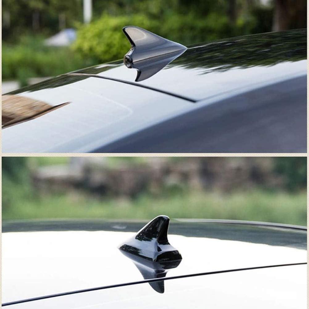pour Volkswagen Nissan Honda BMW Toyota Camry WPFC Antenne D/écoration De Voiture Toit De Voiture Universal Black Shark Fin Antennes