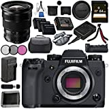 Fujifilm X-H1 Mirrorless Digital Camera (Body Only) 16568731 XF 10-24mm f/4 R OIS Lens 16412188 VPB-XH1 Vertical Power Booster Grip Bundle