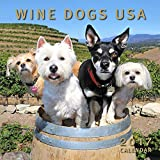 Wine Dogs USA 2017 Calendar