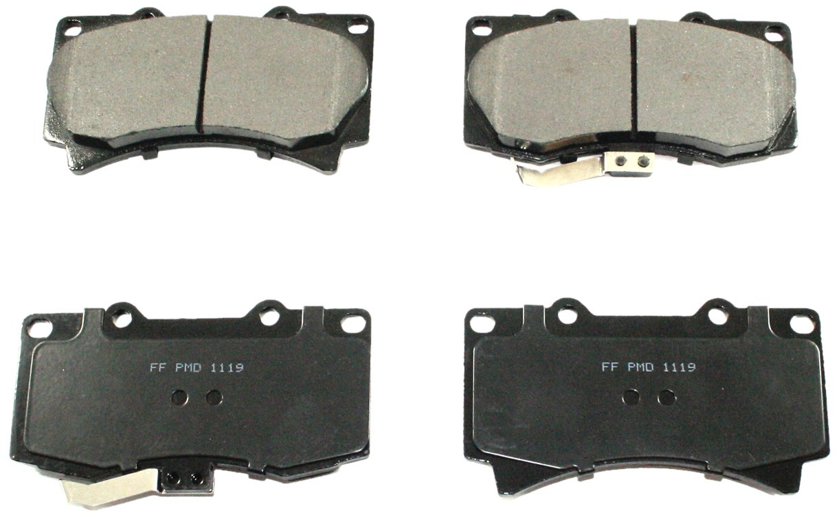 DuraGo BP1119 C Front Ceramic Brake Pad Dura International BP1119C