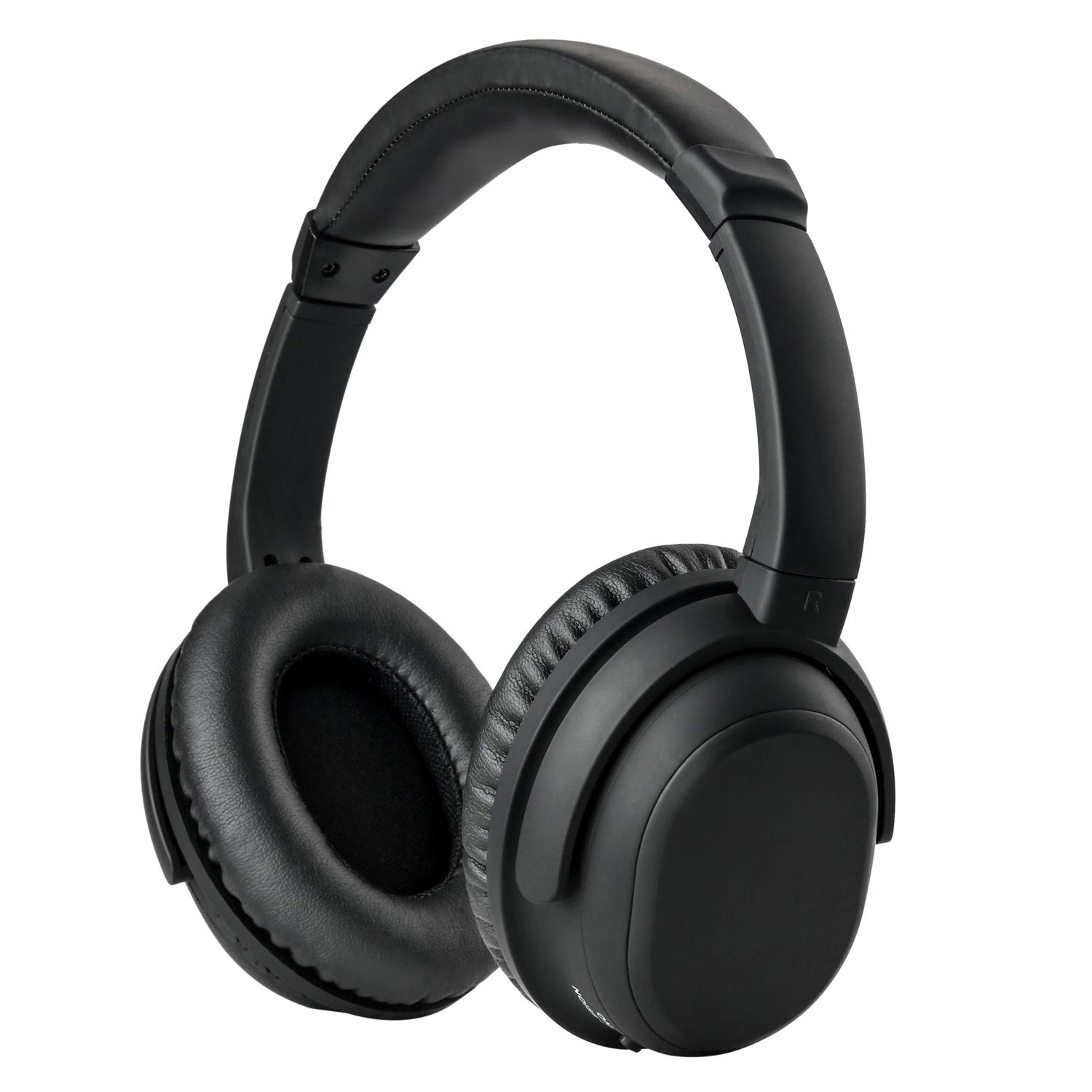 Auriculares Cobker Plegable Cancelacion de Ruido Activa Bluetooth HiFi Stereo Inalambrico Over-Ear Deep Bass Headset Mic