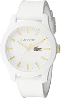 f08ef7674d84 [ラコステ]Lacoste 腕時計 Lacoste.12.12 Analog Display Japanese Quartz White Watch 2010819  メンズ