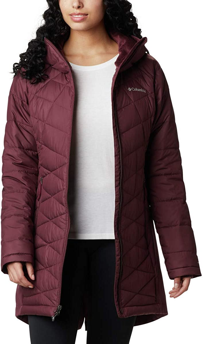 Columbia Women's Heavenly Long Hybrid Jacket Water Winter repel High Max 47% OFF quality