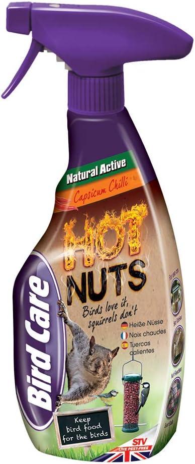 Defenders 750 Ml Squirrel Repellent Spray Humane Natural Deterrent Spray Deters Garden Pests From Bird Tables And Nut Feeders Treats 225 Sq M Amazon Co Uk Garden Outdoors