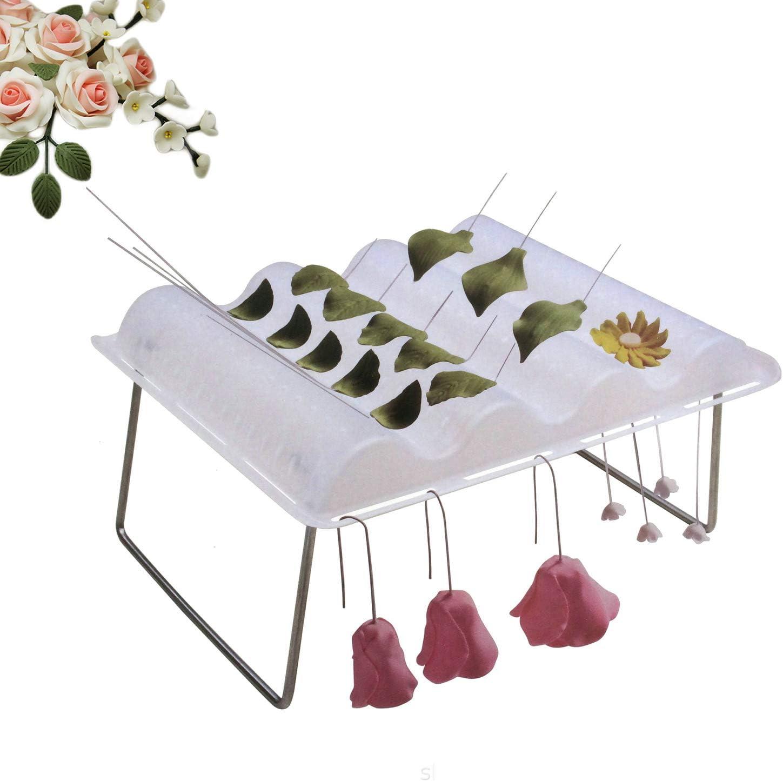 CHENGZI Fondant Drying Moulds Wavy Drying Rack Gum Paste Drying Wavy Holder Cake Decorating Tools