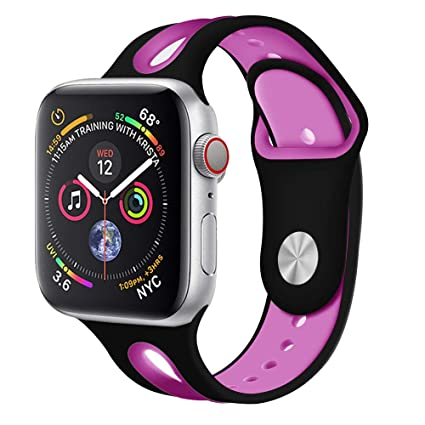 e0eaca7b0 Amazon.com  Cywulin Compatible for Apple Watch Band 38mm 42mm 40mm ...
