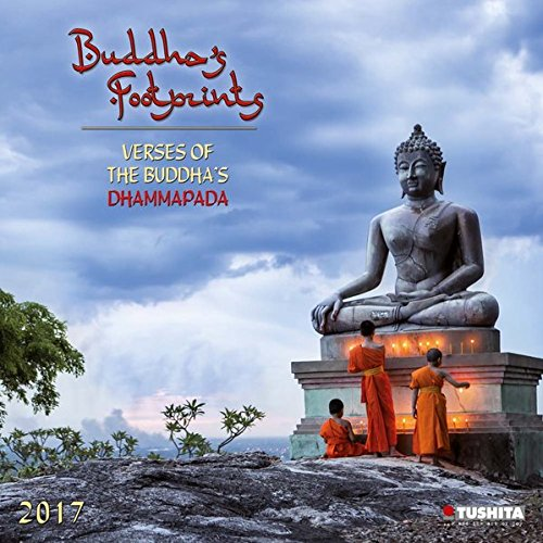 Buddha's Footprints 2017: Kalender 2017 (Mindful Edition)