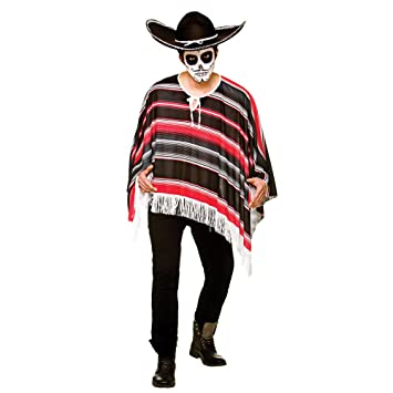Mens Day Of the Dead Costume for Walking Dead Halloween Zombie ...
