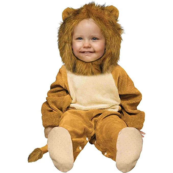 ff2e5e4fd Amazon.com: Fun World Costumes Baby's Cuddly Lion Infant Costume ...