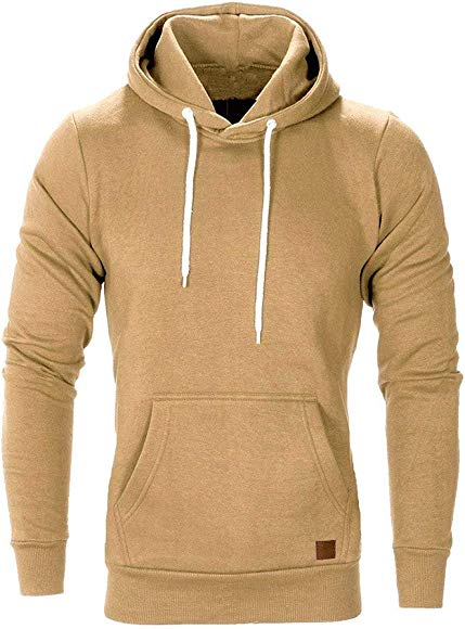 Mens Hoodie Toamen Clothes Sale Autumn Winter Solid Casual