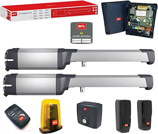 Kit BFT PHOBOS BT A40 puerta automática puertas batientes 24 V R935309 00004 ML053: Amazon.es: Bricolaje y herramientas