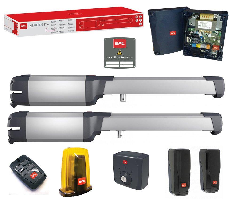 Kit BFT Phobos BT A25/portail automatique portes battant 24/V r935306/00004/ml034