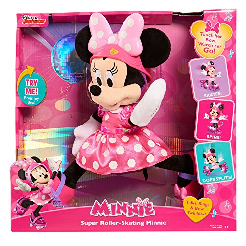 Minnie JUSUB Super Roller Skating Plush