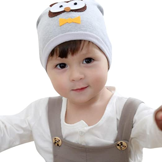 Amazon.com  Dumanfs Toddler Girl Boy Baby Owl Hat 62060adece4