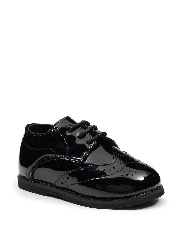 Paisley of London - Zapatos Primeros Pasos para niño Negro Negro