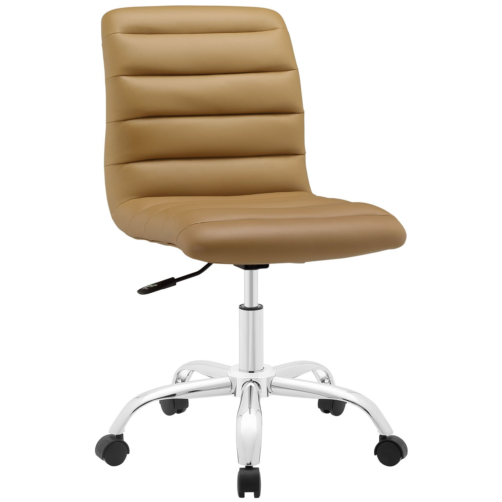 Modway Ripple Mid Back Office Chair, Tan by Modway