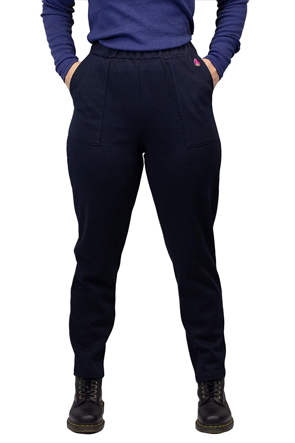 Extra Small HauteWork PNTF8KPW-XS Workday Warrior FR Pant for Women Navy