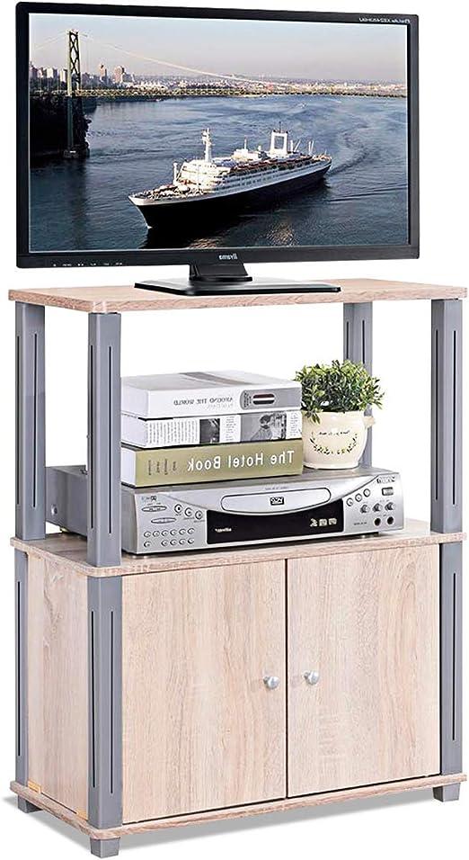 COSTWAY TV Mesa Mueble Estante Soporte Televisor Salón Estantería ...