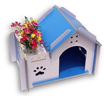 YC Kennel Otoño E Invierno Chihuahua Bomei Teddy Casa de Perro Casa de Perro Casa de Madera Cama para Mascotas Perro Pequeño,Segundo: Amazon.es: Deportes y ...