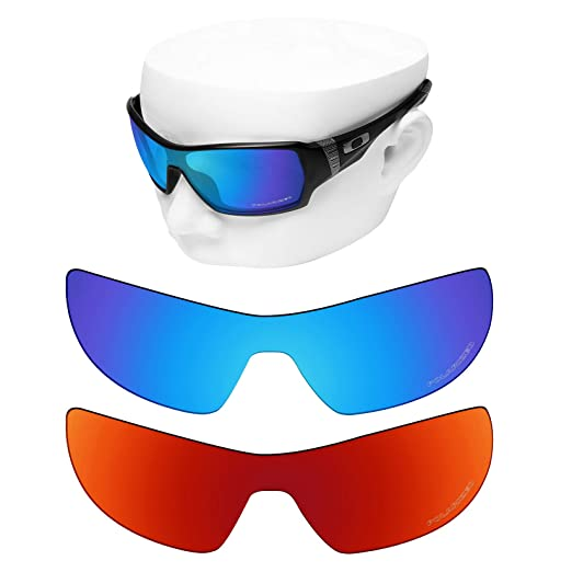 ae92236f86 Image Unavailable. Image not available for. Color  OOWLIT 2 Pair Replacement  Sunglass Lenses for Oakley Offshoot POLARIZED