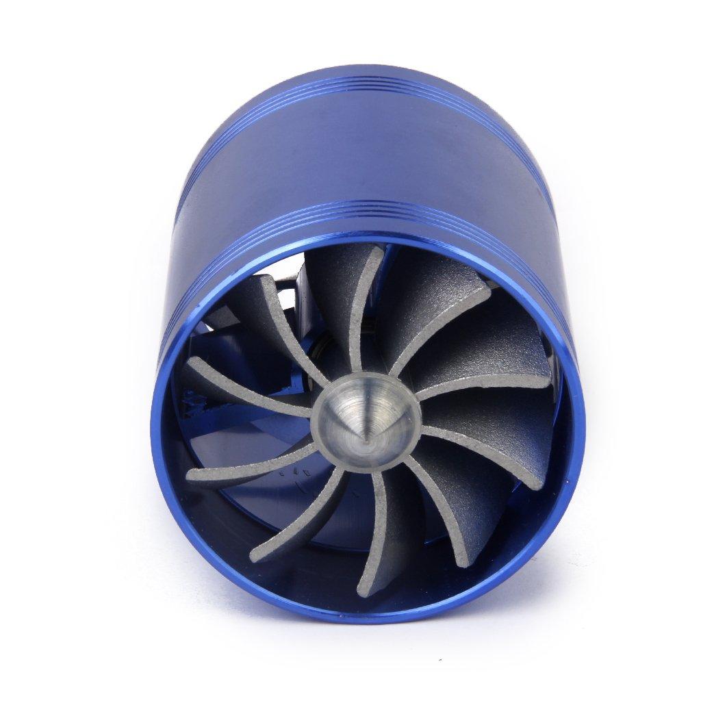Turbina Ventilador De Combustible F1-z Protector Doble Turbo Aire Helice Eco: Amazon.es: Coche y moto