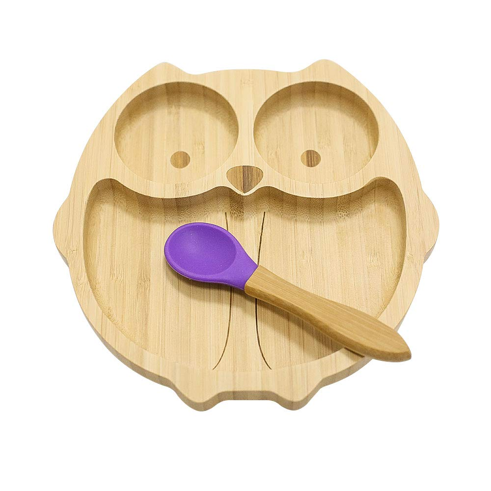 Baby fork and spoon toddler utensils feeding training child tableware set 2 p FJ