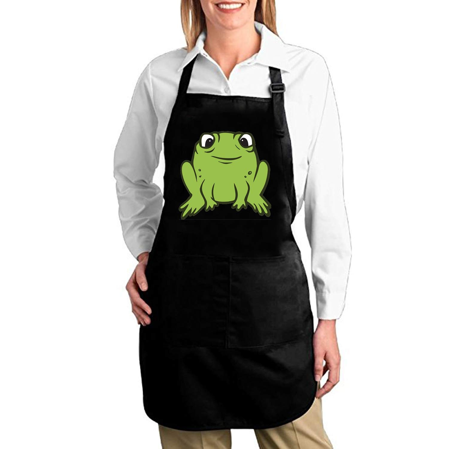 Amazon.com: aportt Ninja-Frog Adjustable Apron for Kitchen ...