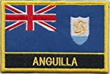 Anguilla Country Flag Embroidered Blazer Badge Patch