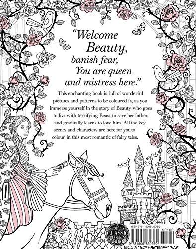 The Beauty And Beast Colouring Book Macmillan Classic Books Amazoncouk Gabrielle Suzanne De Villeneuve 9781509839360