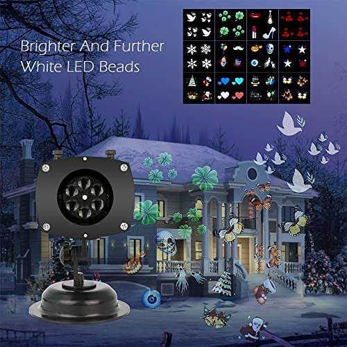 Outdoor Led Projector Christmas Lights - 4