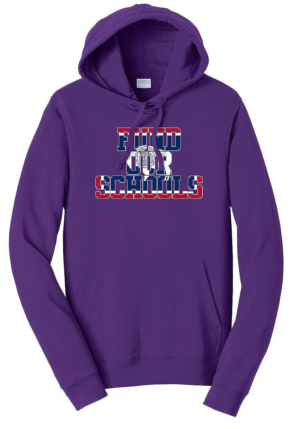 Tenacitee Unisex Fund Our Wyoming Schools Sweatshirt