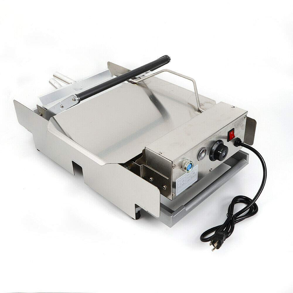 110V 2000W Commercial Double Layer Electric Hamburger Machine Baking Burger Maker Heating Charter Cooking Tool for Home Kitchen and Restaurant - US Shipping by NICE CHOOSE (Image #3)