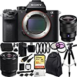 Sony Alpha a7R Mark II a7R II a7RII ILCE7RM2/B Mirrorless Camera Bundle with Lens and Accessories (14 Items) - International Version