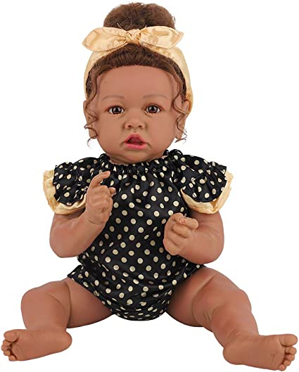 "18/"" Reborn Baby Doll Newborn Full Body Silicone Vinyl Girls Kids Gift Handmade"