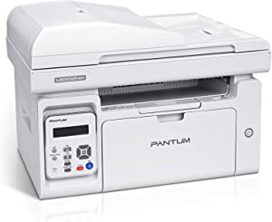 All in One Laser Printer Scanner Copier with ADF, Wireless Multifunction Black and White Laser Printer, Pantum M6552NW(W4G61A)