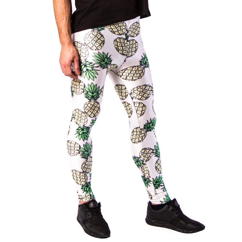 12961c21176bb Kapow Meggings New Colorful Print Mens Leggings