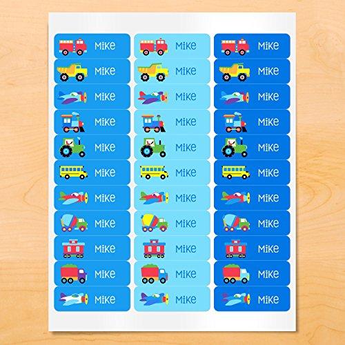 Olive Kids Tptx Trains (Trains, Planes, Trucks Rectangle Waterproof Labels)