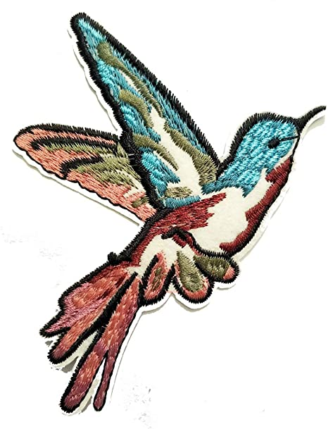 Embroidery Applique Patch Sew Iron Badge Iron On Flying Bird