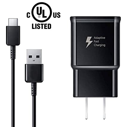 Amazon.com: Cable de carga USB tipo C y adaptador de carga ...